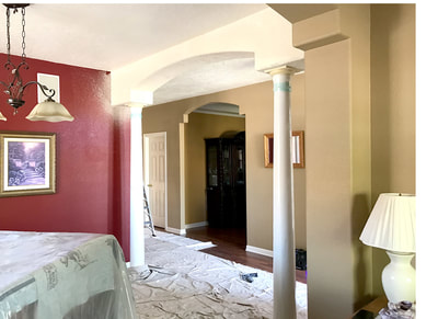Drywall Finished Arch